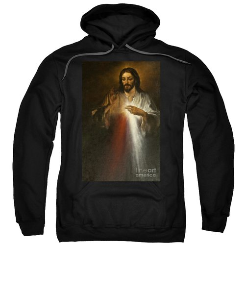 Jesus Of Divine Mercy Sweatshirt