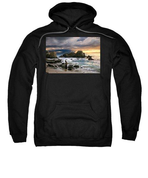 Jesus' Sunset Sweatshirt