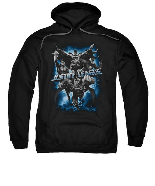 Jla - Justice Storm Sweatshirt