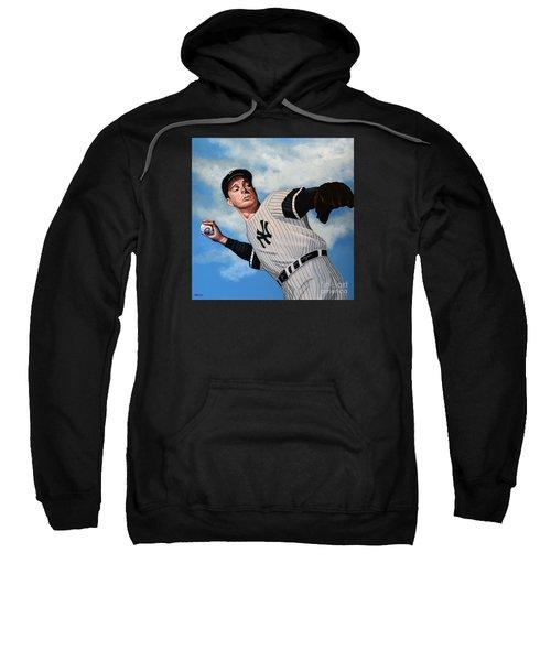 Joe Dimaggio Sweatshirt by Paul Meijering