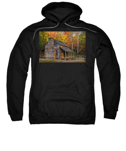 John Oliver's Cabin In Great Smoky Mountains Sweatshirt