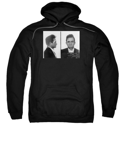 Johnny Cash Folsom Prison Sweatshirt by David Millenheft