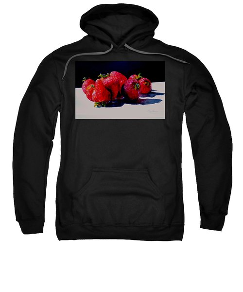 Juicy Strawberries Sweatshirt