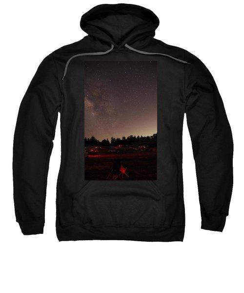 Julian Night Sky Milky Way Sweatshirt