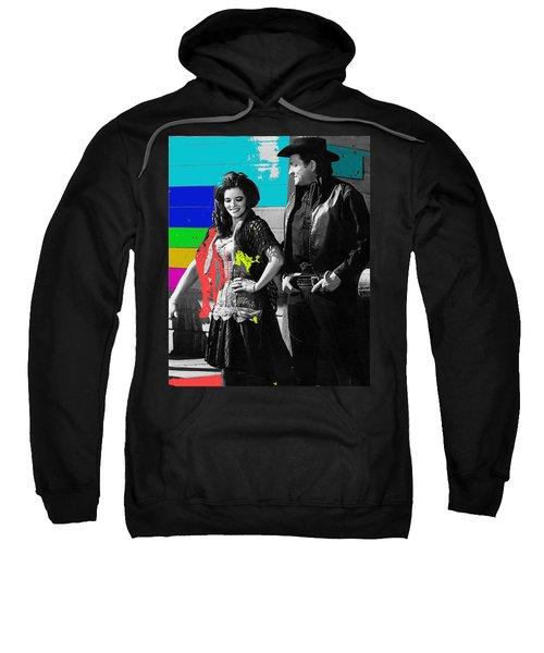 June Carter Cash Johnny Cash In Costume Old Tucson Az 1971-2008 Sweatshirt