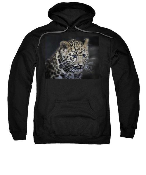 Kanika - Amur Leopard Portrait Sweatshirt
