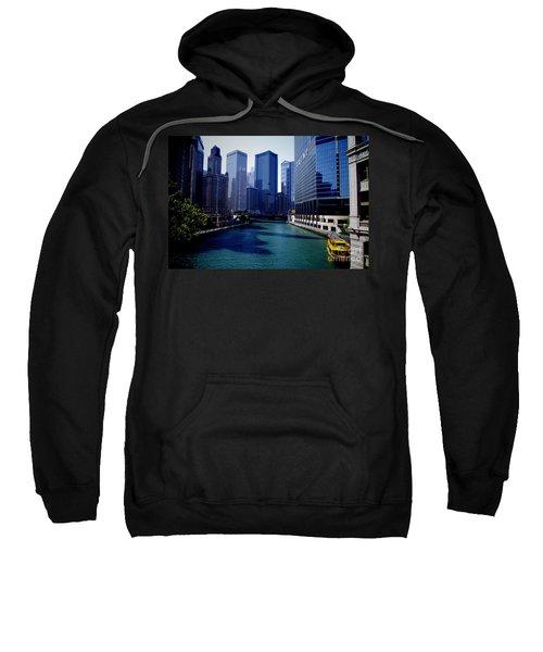 Kayaks On The Chicago River Sweatshirt