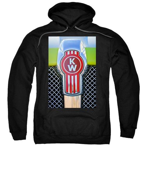 Kenworth Truck Emblem -1196c Sweatshirt
