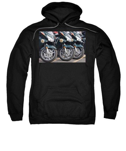 King County Police Motorcycle Sweatshirt