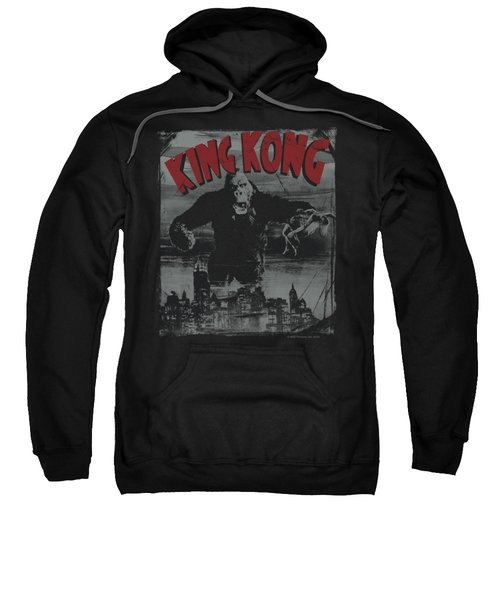 King Kong - City Poster Sweatshirt by Brand A