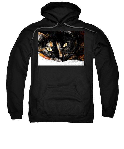 Kitty Face Sweatshirt