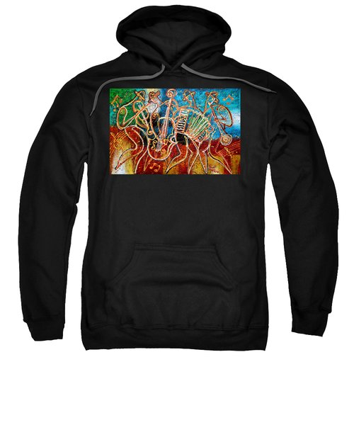 Klezmer Music Band Sweatshirt