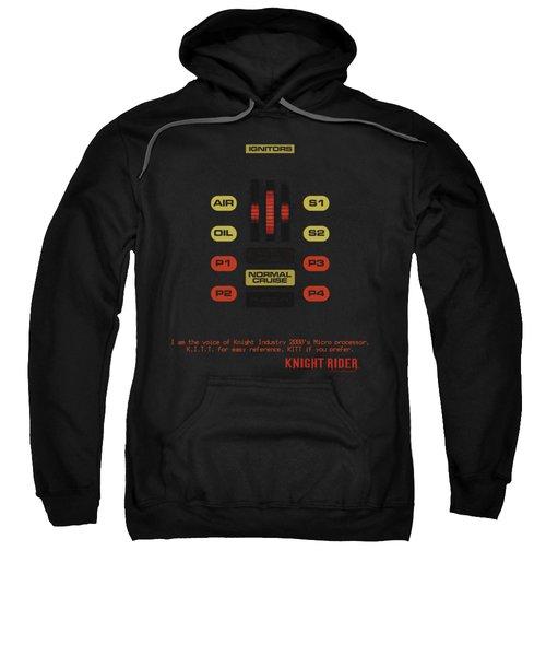 Knight Rider - Kitt Consol Sweatshirt