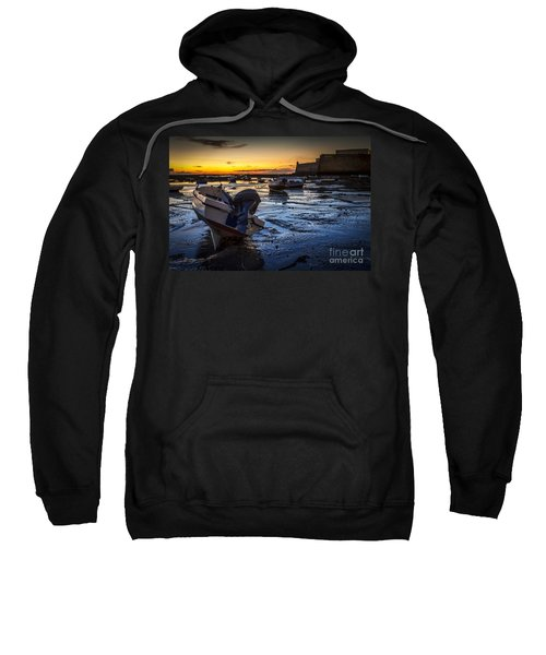 La Caleta Beach Cadiz Spain Sweatshirt