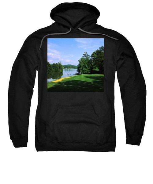 Lake On A Golf Course, Legend Course Sweatshirt