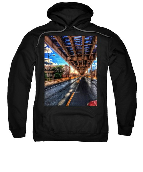 Lake Street El Tracks Sweatshirt