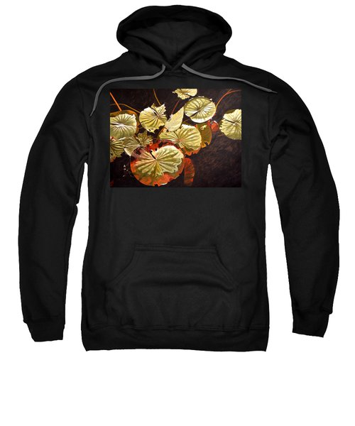 Lake Washington Lily Pad 11 Sweatshirt