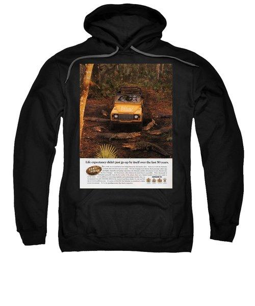 Land Rover Defender 90 Ad Sweatshirt