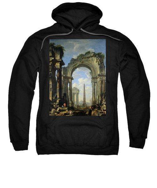 Landscape With Ruins Sweatshirt