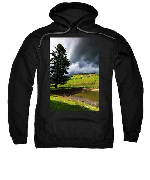 Lanty's Tarn On A Stormy Afternoon Sweatshirt