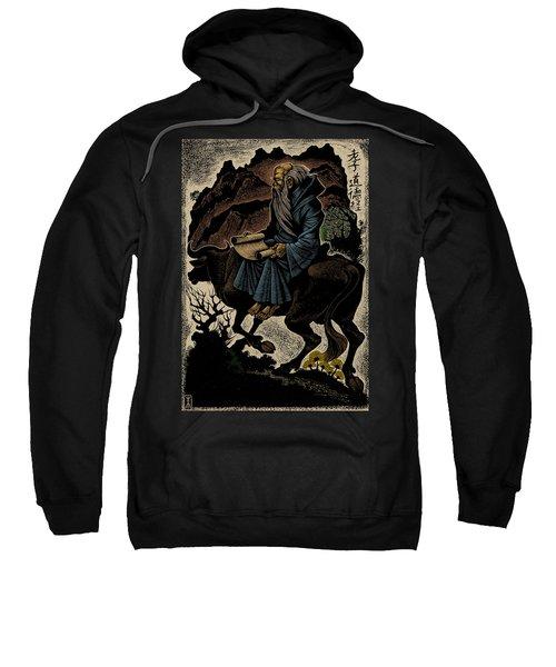 Laozi, Ancient Chinese Philosopher Sweatshirt