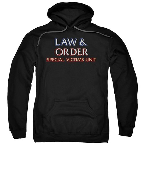 Law And Order Svu - Logo Sweatshirt