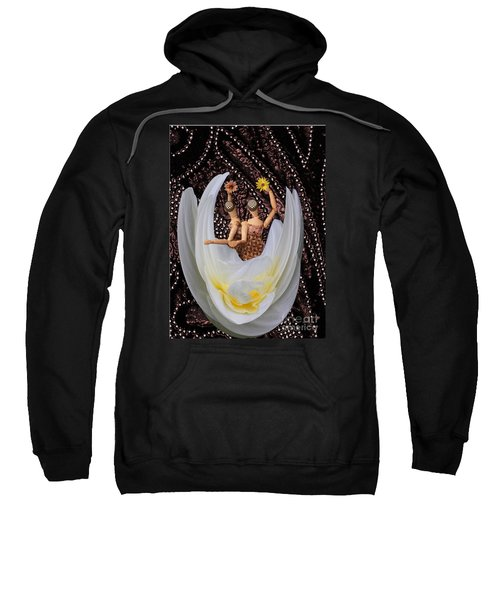 Sweatshirt featuring the photograph Leaving by Nareeta Martin