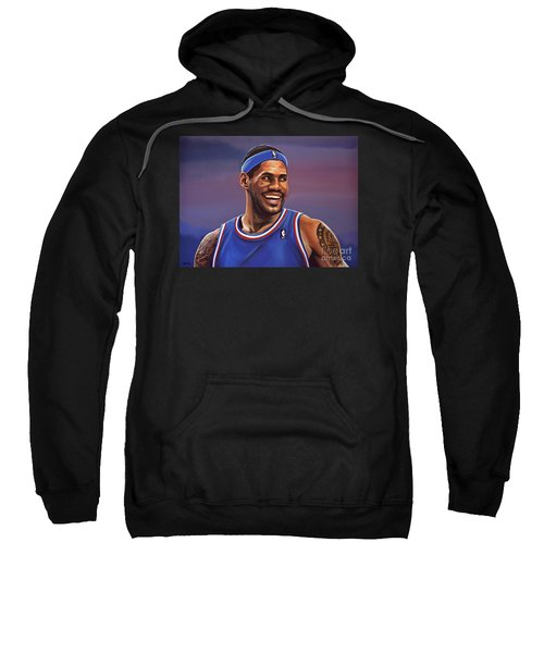 Lebron James  Sweatshirt by Paul Meijering