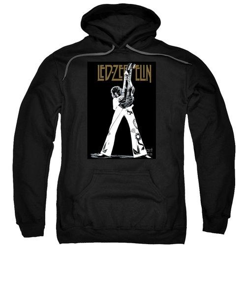 Led Zeppelin No.06 Sweatshirt by Caio Caldas