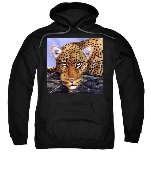 Leopard In A Tree Sweatshirt