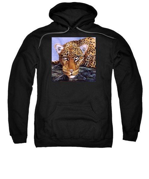 Leopard In A Tree Sweatshirt