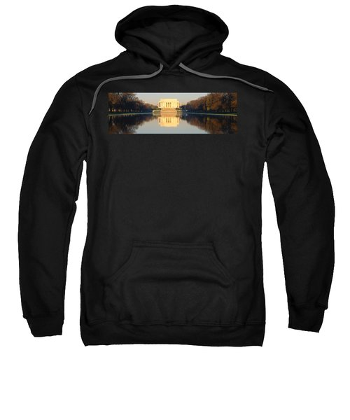 Lincoln Memorial & Reflecting Pool Sweatshirt by Panoramic Images