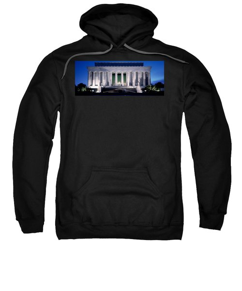 Lincoln Memorial At Dusk, Washington Sweatshirt