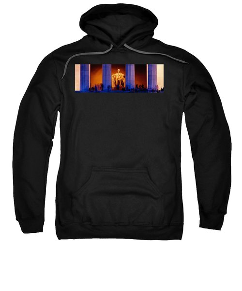 Lincoln Memorial, Washington Dc Sweatshirt by Panoramic Images