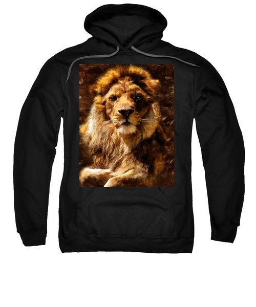 Lion King Of Beasts Sweatshirt