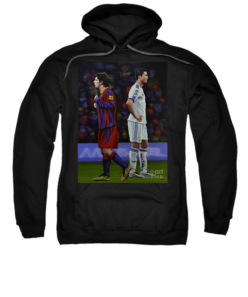 Lionel Messi And Cristiano Ronaldo Sweatshirt