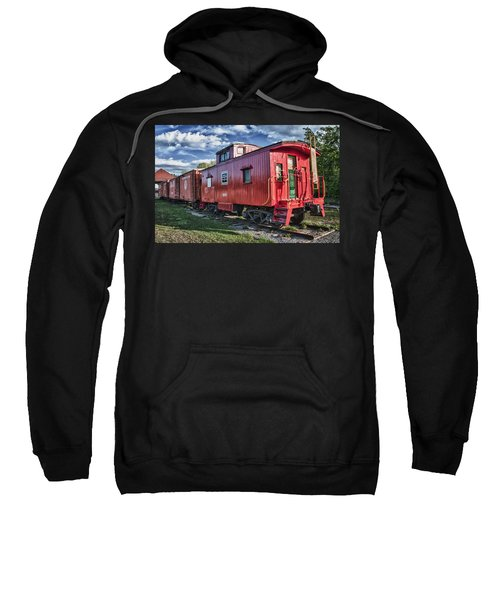 Little Red Caboose Sweatshirt