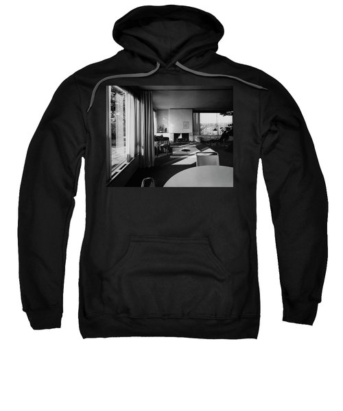 Living Room In Mr. And Mrs. Walter Gropius' House Sweatshirt