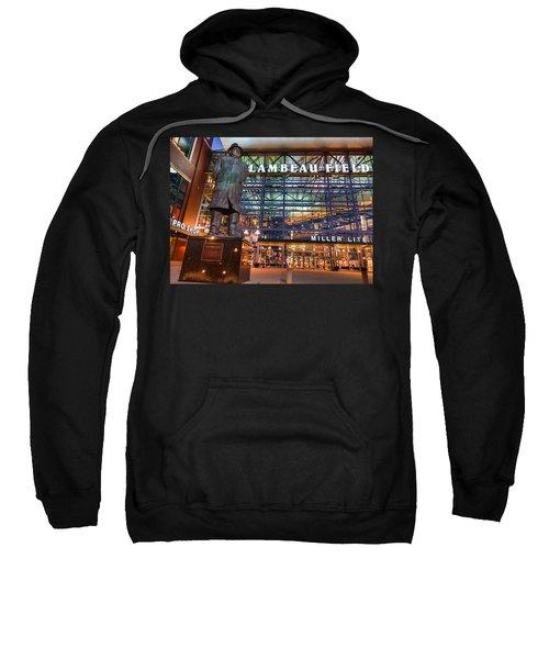Lombardi At Lambeau Sweatshirt by Bill Pevlor