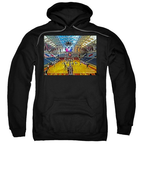 Looking Down The Length Of The Court Sweatshirt