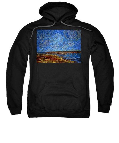 Looking East - St Andrews Wharf 2013 Sweatshirt