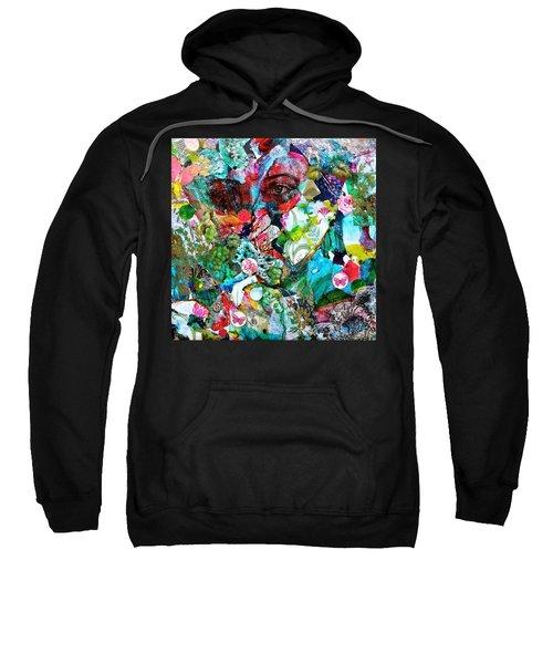 Looking Through Sweatshirt by Bellesouth Studio