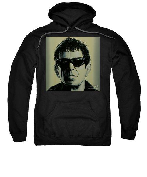 Lou Reed Painting Sweatshirt by Paul Meijering