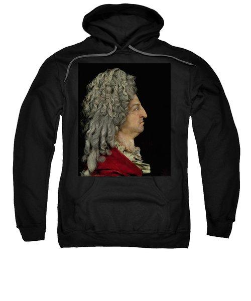 Louis Xiv 1638-1715 1706 Mixed Media Sweatshirt