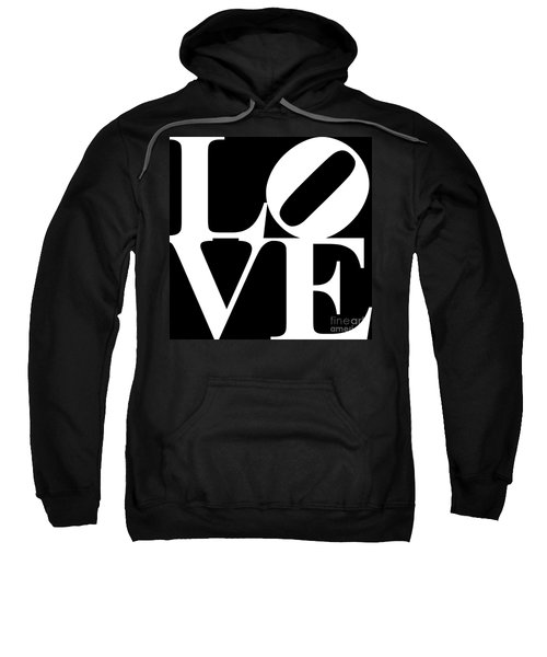 Love 20130707 White Black Sweatshirt