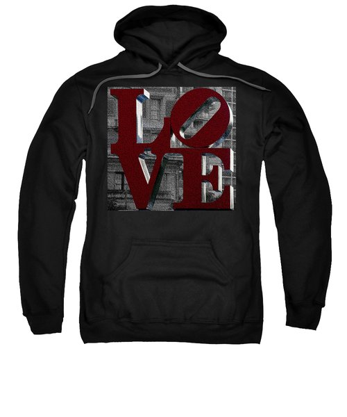 Love Philadelphia Red Mosaic Sweatshirt