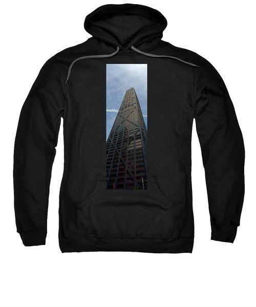 Low Angle View Of A Building, Hancock Sweatshirt