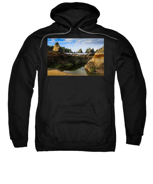 Low Tide At The Arches Sweatshirt