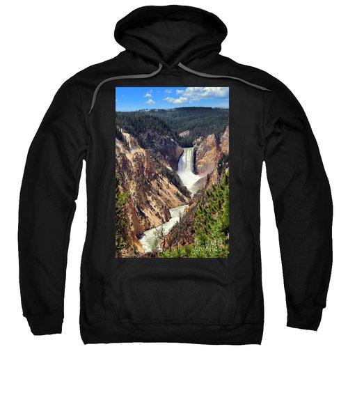 Lower Falls Of Yellowstone Sweatshirt