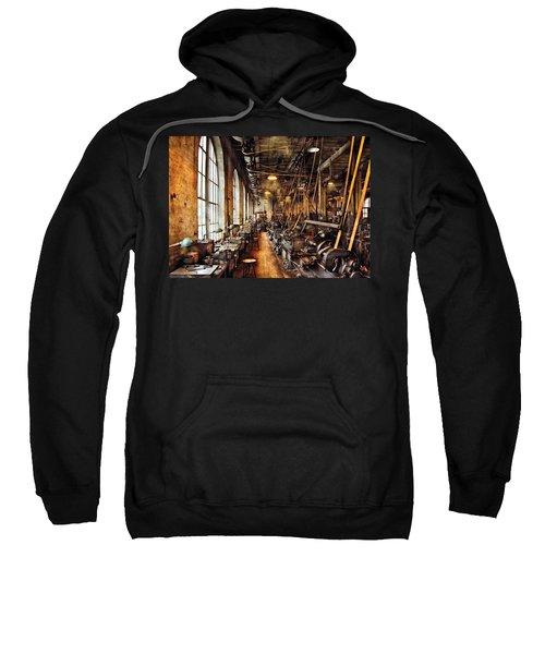 Machinist - Machine Shop Circa 1900's Sweatshirt